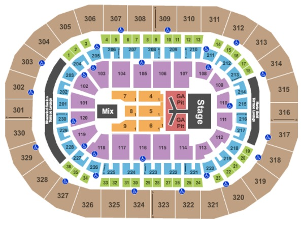 Chesapeake Energy Arena Florida Georgia Line