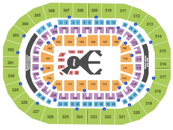 Chesapeake Energy Arena Cirque Ovo
