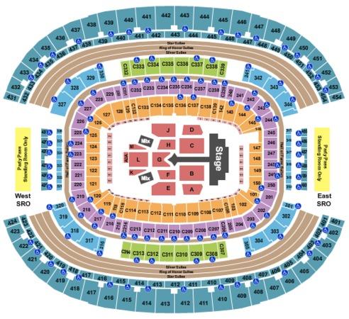 AT&T Stadium Justin Bieber