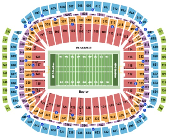 NRG Stadium 2018 Texas Bowl