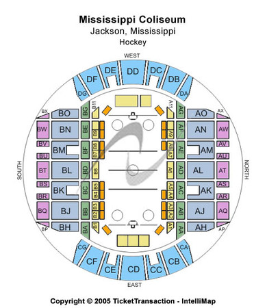 Mississippi Coliseum Hockey