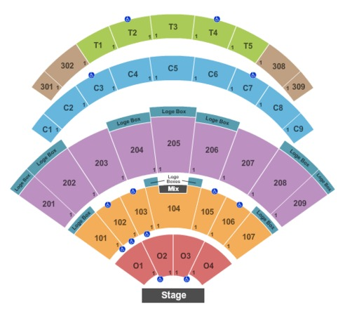 Daily S Place Amphitheater Tickets In Jacksonville Florida Seating Charts Events And Schedule