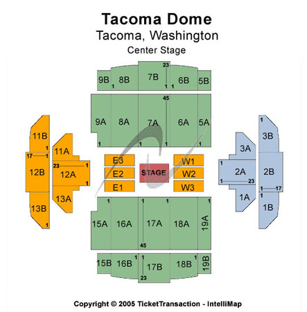 Tacoma Dome Center Stage