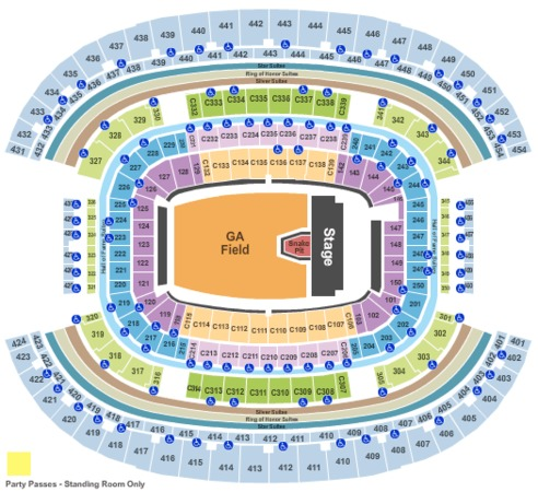 AT&T Stadium Metallica
