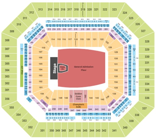 Hard Rock Stadium Tickets In Miami Gardens Florida Hard Rock Stadium Seating Charts Events And