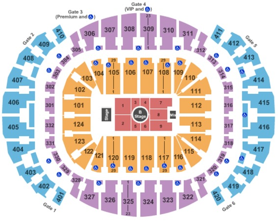 AmericanAirlines Arena J Cole