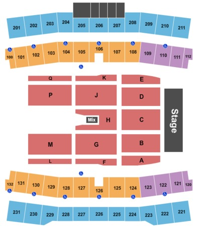 Ford Center Tickets In Frisco Texas Ford Center Seating