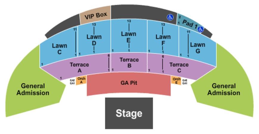 Mcgrath Cedar Rapids >> Mcgrath Amphitheatre Tickets In Cedar Rapids Iowa Seating