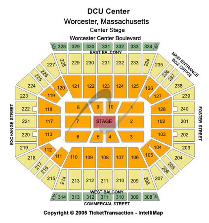 DCU Center Center Stage