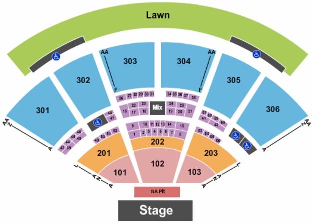 Usana amphitheatre tickets in west valley city utah usana