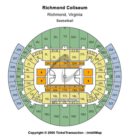 Richmond Coliseum Basketball