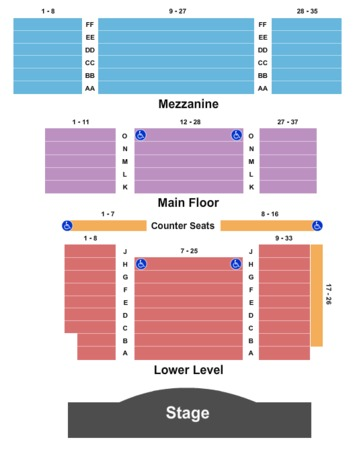 Music Hall Kansas City Seating Chart Insaatmcpgroupco