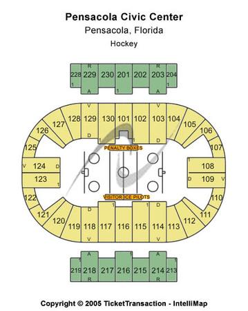 Pensacola Bay Center Hockey