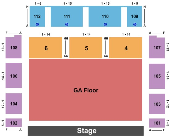 Redding Civic Auditorium Tickets In Redding California Seating Charts Events And Schedule