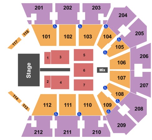 BB&T Arena Tickets in Highland Heights Kentucky, BB&T ...