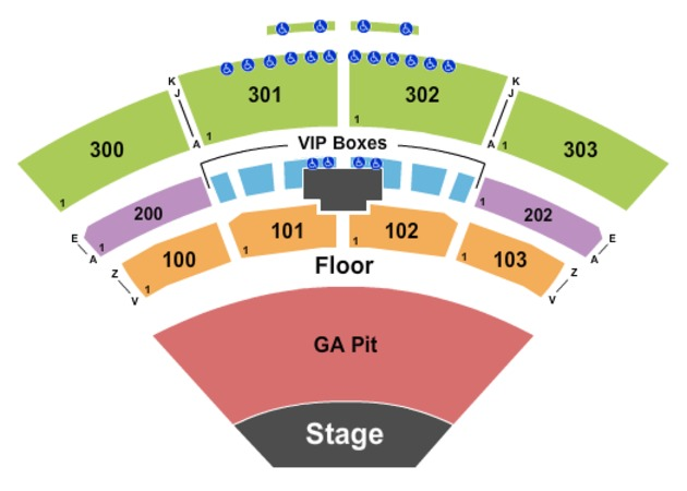 Toyota Johnson City >> The Pavilion at Toyota Music Factory Tickets in Irving Texas, Seating Charts, Events and Schedule