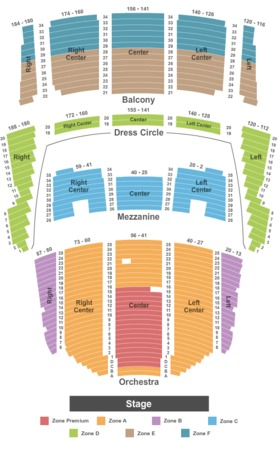 Queen Elizabeth Theatre Endstage Zone Test - DO NOT USE