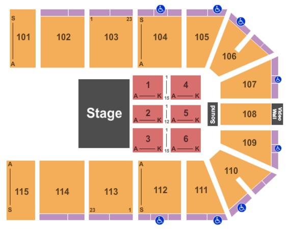 Hartman Arena Tickets In Valley Center Kansas Hartman