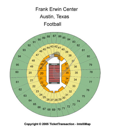 Frank Erwin Center Football