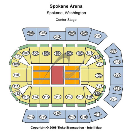 Spokane Arena Center Stage