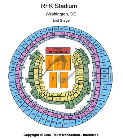 Rfk stadium tickets in washington district of columbia rfk stadium