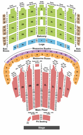 The Chicago Theatre Tickets In Chicago Illinois The