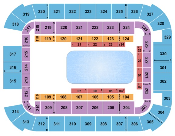 Lake Charles Civic Center Arena Disney on Ice
