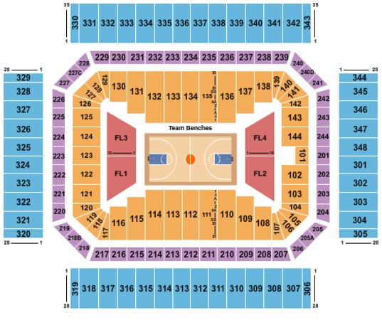 Alamodome Tickets In San Antonio Texas Alamodome Seating Charts