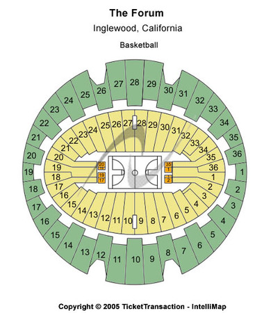The Forum - Los Angeles Basketball
