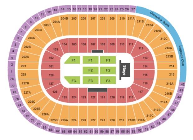 Joe Louis Arena End Stage