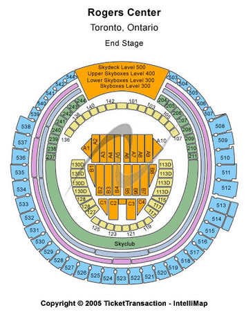 Rogers Centre End Stage