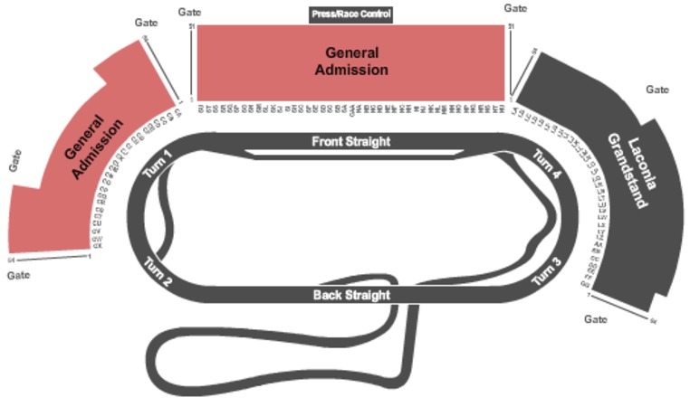 New hampshire motor speedway tickets in loudon new hampshire