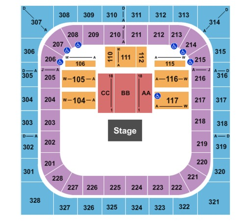Bank Of Springfield Center Tickets In Springfield Illinois
