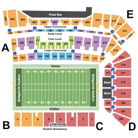 Bridgeforth Stadium Tickets In Harrisonburg Virginia
