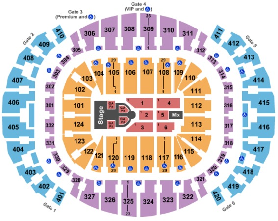 AmericanAirlines Arena Nicki Minaj & Future