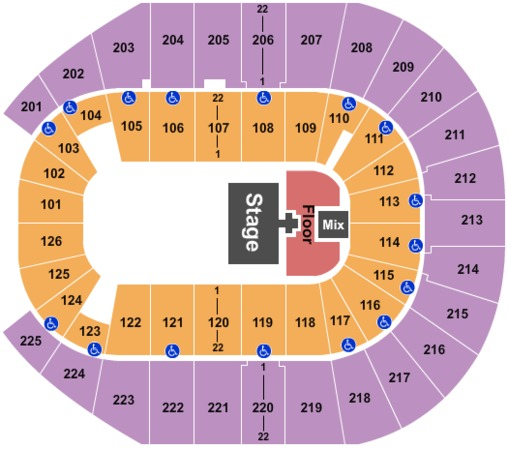 Verizon Arena Perception Tour