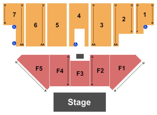 Five Flags Center - Arena Endstage 3