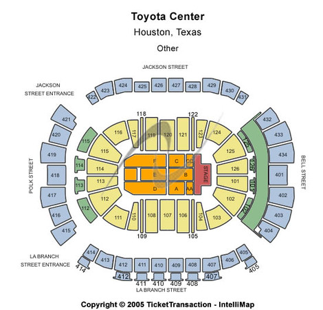 Toyota Center Other