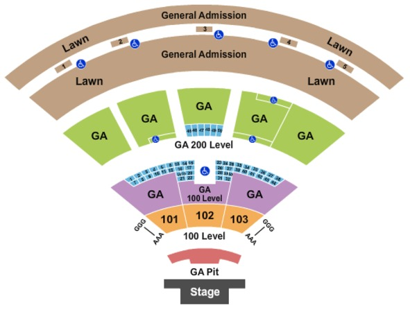 Image Result For Fiddlers Green Seating Map