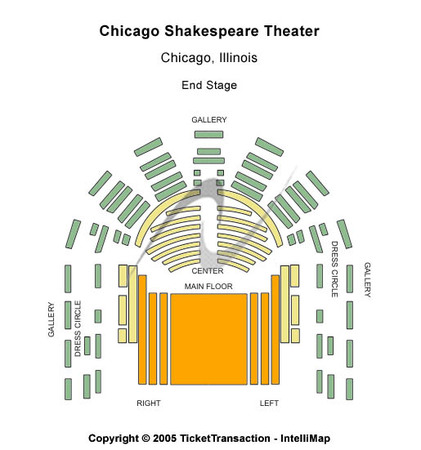 Chicago Shakespeare Theatre Tickets In Chicago Illinois