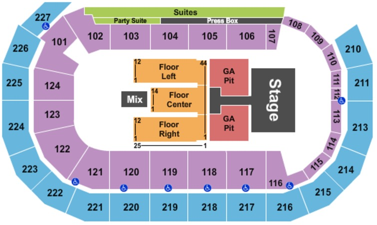 Amsoil Arena Tickets In Duluth Minnesota Amsoil Arena Seating