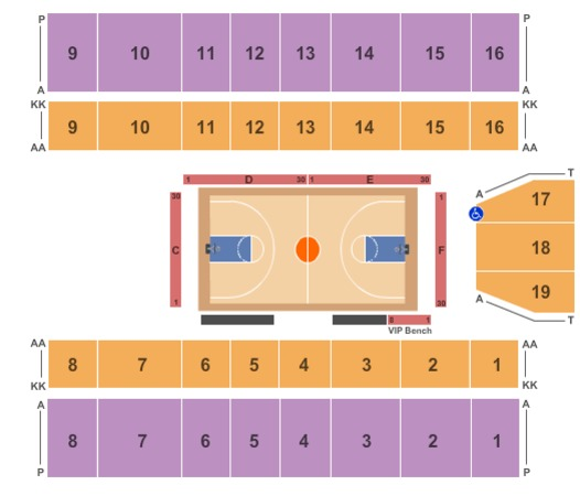Big Sandy Superstore Arena Basketball