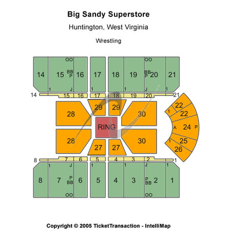 Big Sandy Superstore Arena Center Stage