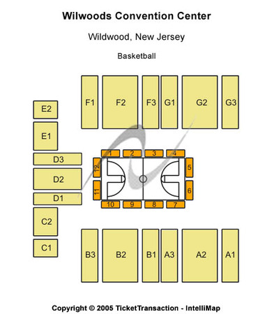 Wildwoods Convention Center Basketball