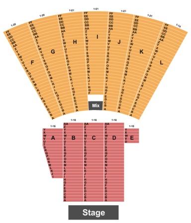 Toledo Zoo Amphitheatre Tickets In Toledo Ohio Seating Charts