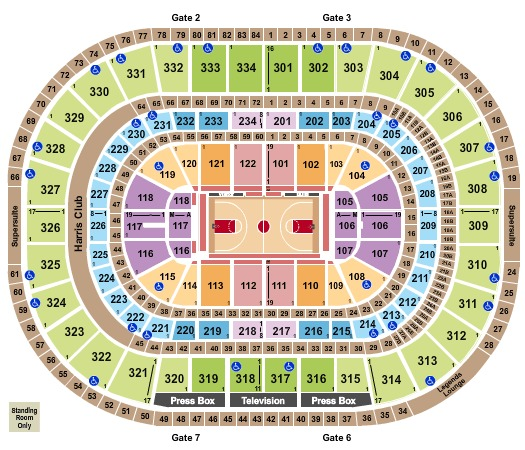 United Center Basketball Int Zone 2