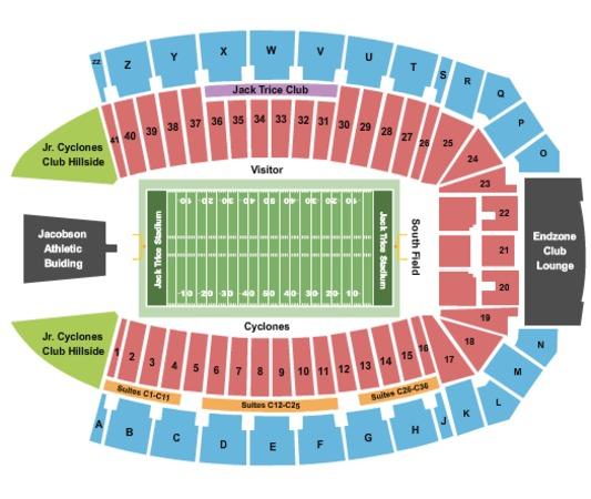 Jack Trice Stadium Tickets in Ames Iowa, Jack Trice ...