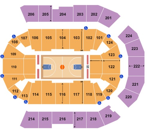 Spokane Arena Basketball 2