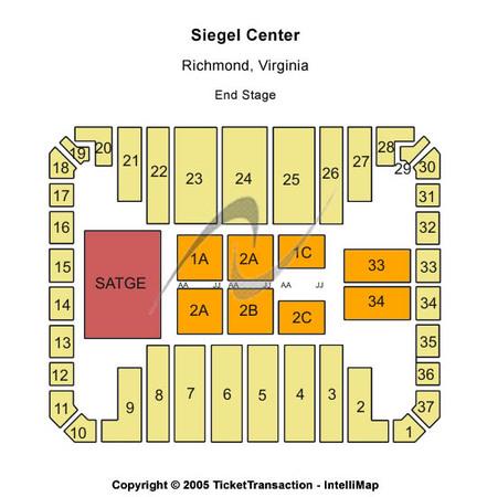 Stuart c siegel center tickets in richmond virginia seating charts
