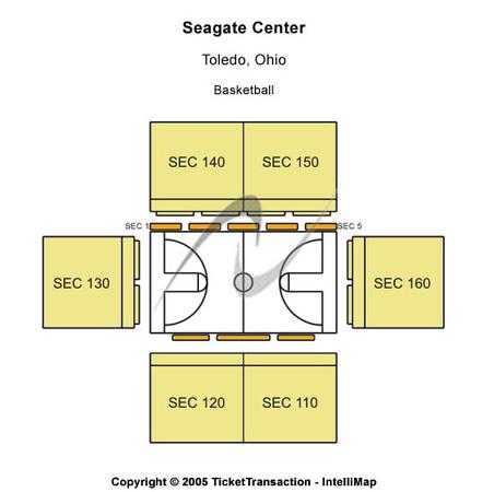 Seagate Center Tickets in Toledo Ohio, Seagate Center